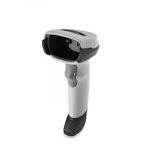 2D баркод скенер Zebra / Symbol / Motorola DS2208 бял - страничен поглед