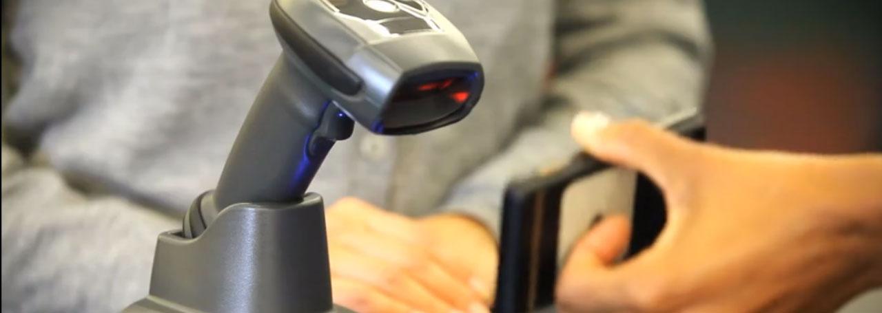 безжичен баркод скенер Symbol LI4278 сканира от телефон