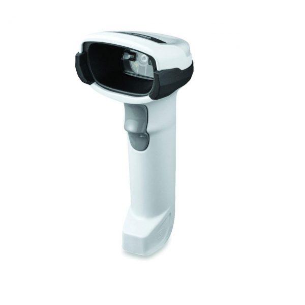 безжичен черен баркод скенер Zebra DS2278 Bluetooth страничен поглед