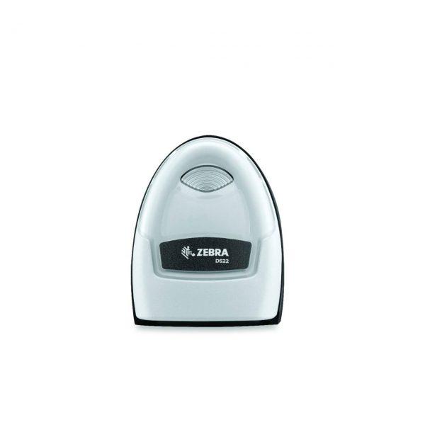 безжичен бял баркод скенер Zebra DS2278 Bluetooth поглед отгоре