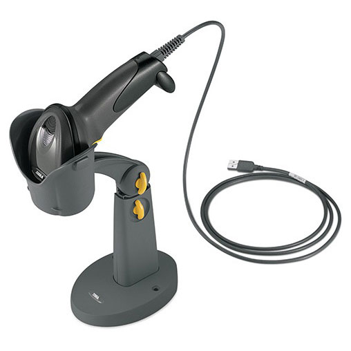 дигитален скенер Zebra / Symbol / Motorola DS6700 със стойка и кабел