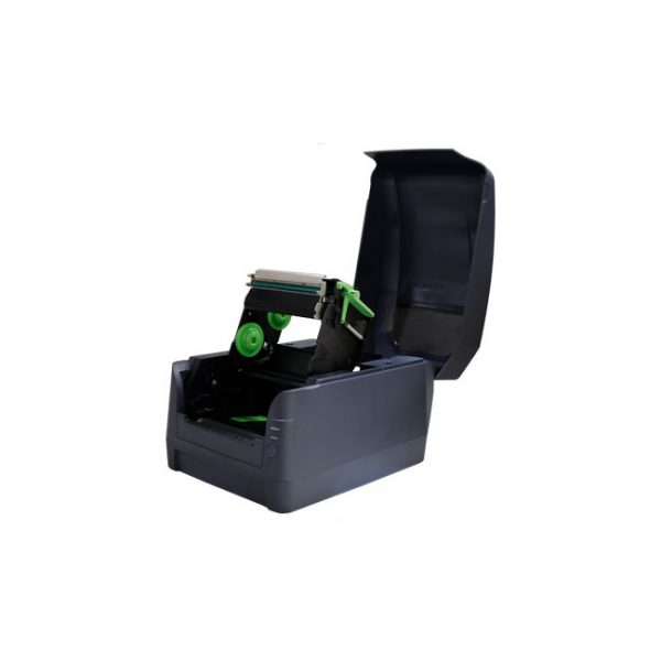 Настолен етикетен принтер Argox CP-2240 отворен без лента