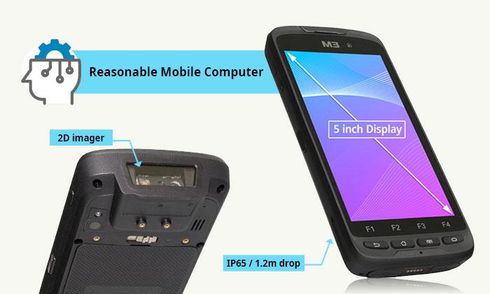 Мобилен компютър M3 SL10 с Android инфографика 2