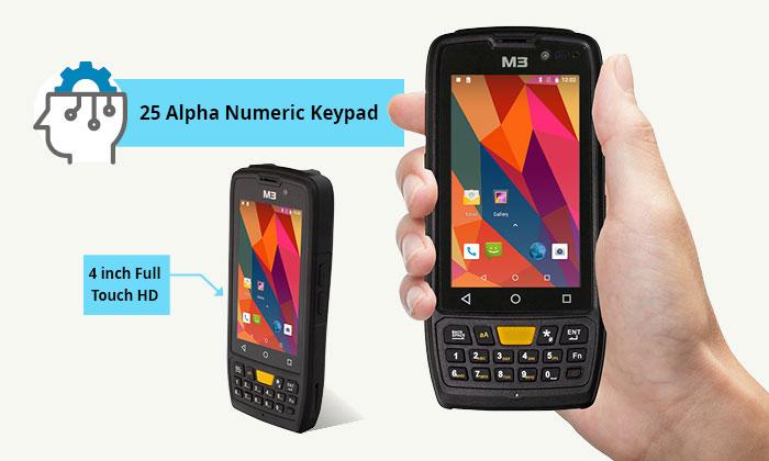 Мобилен компютър M3 SL10-K с Android инфографика 2