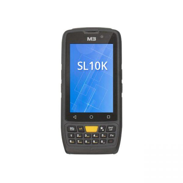 Мобилен компютър M3 SL10-K с Android поглед отпред