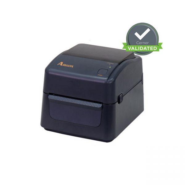 Настолен етикетен принтер Argox D4-250 затворен
