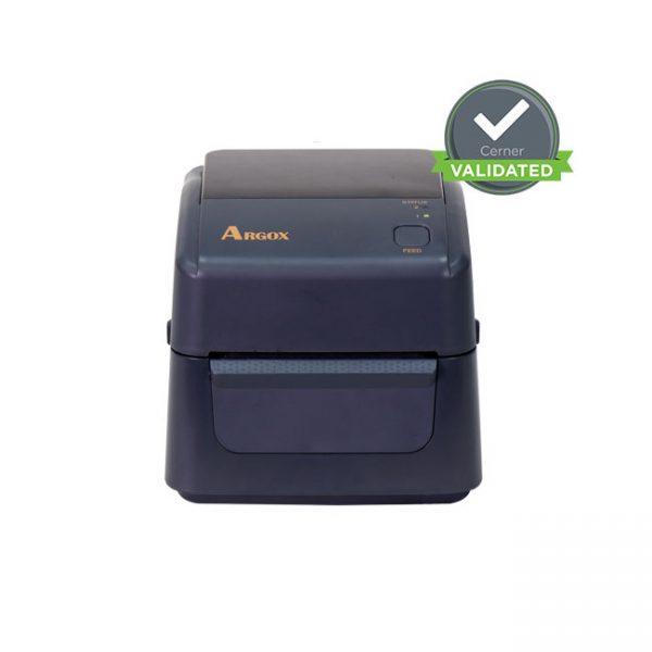 Настолен етикетен принтер Argox D4-250 поглед отпред