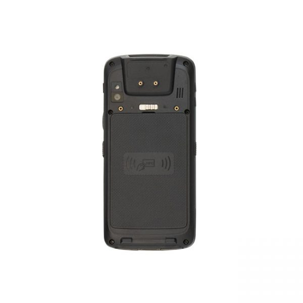 Мобилен компютър M3 SL10 с Android изглед отзад