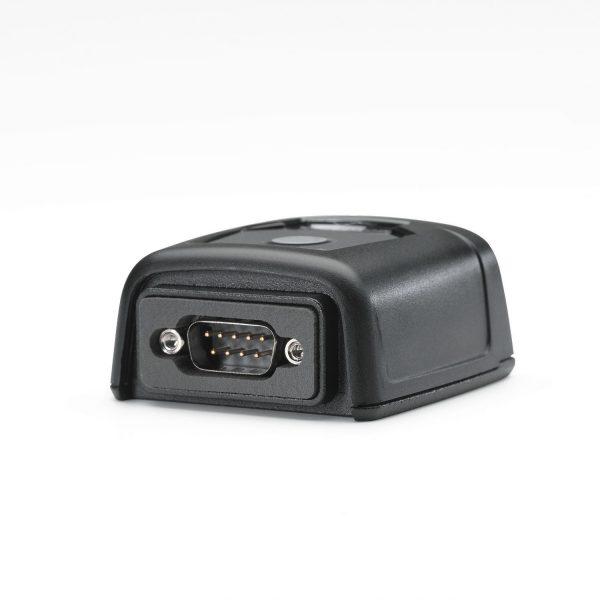 Стационарен баркод скенер Zebra DS457 поглед отзад