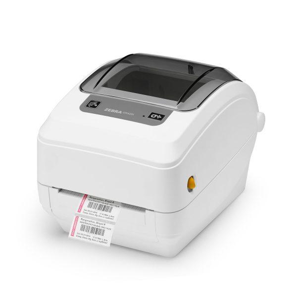 Настолен етикетен принтер Zebra GK420 модел T