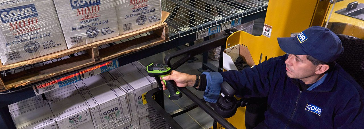 Индустриален баркод скенер Zebra LI3608-SR приложение