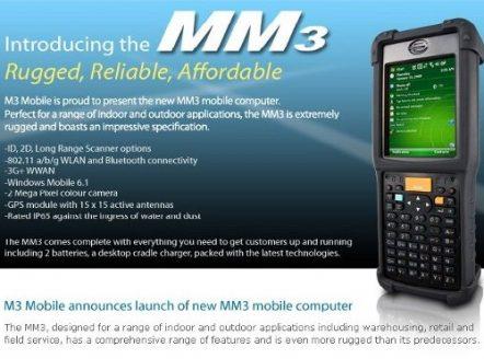 Мобилен компютър МM3 от M3 Mobile