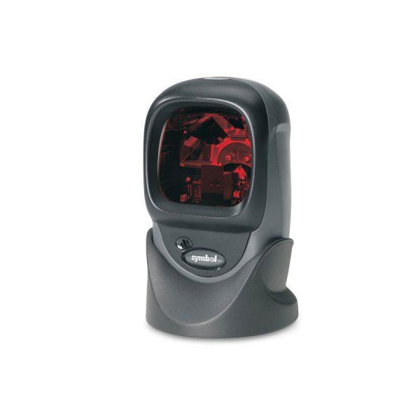 Многоравнинен баркод скенер Zebra (Motorola) LS9203 върху стойка