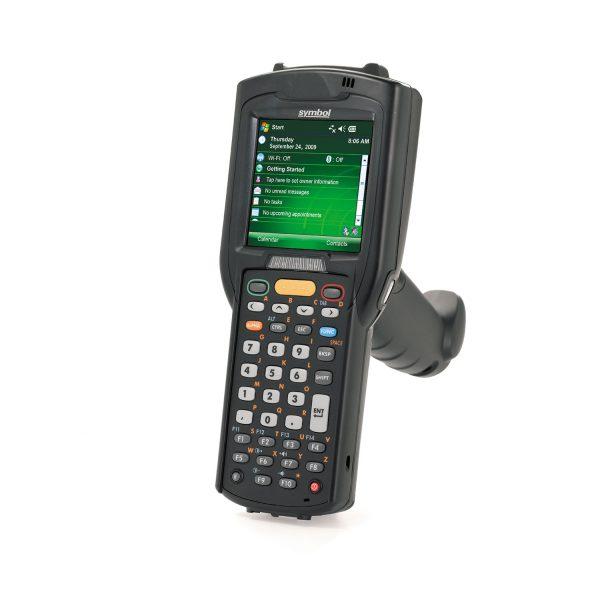 Мобилен компютър Zebra (Symbol / Motorola) MC3190-G с аксеоар за хващане