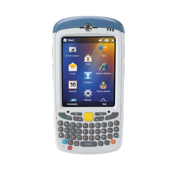 Мобилен компютър Zebra MC55 изглед отпред бял