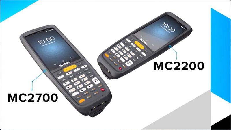 мобилни компютри Zebra MC2200 и MC2700