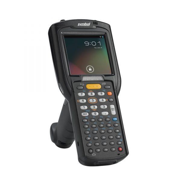 мобилен компютър Zebra MC3200 черен с дръжка
