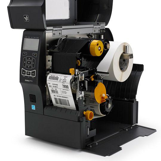 Zebra принтер - rewinder