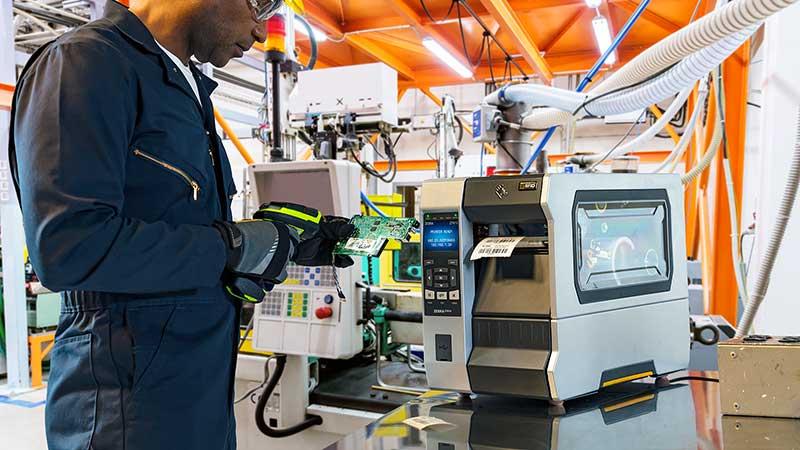 Zebra ZT610 в производствен процес – висок клас индустриален етикетен принтер