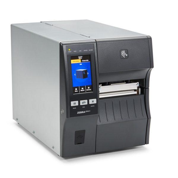 Zebra ZT411 100mm 203dpi - етикетен принтер среден клас - снимка 2