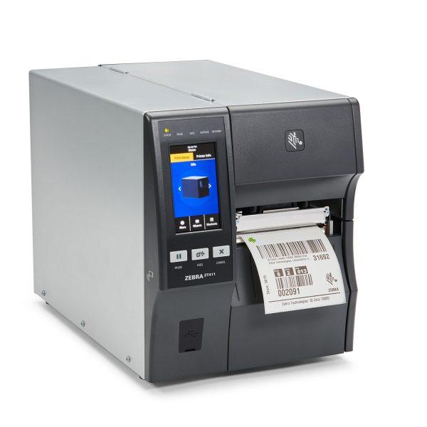 Zebra ZT411 100mm 203dpi - етикетен принтер среден клас - снимка 1