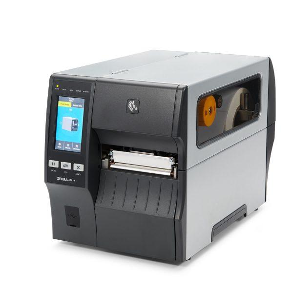 Zebra ZT411 - 110mm 600dpi среден клас етикетен принтер - снимка 1