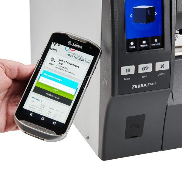 Zebra ZT411 - 110mm 600dpi среден клас етикетен принтер - снимка 2