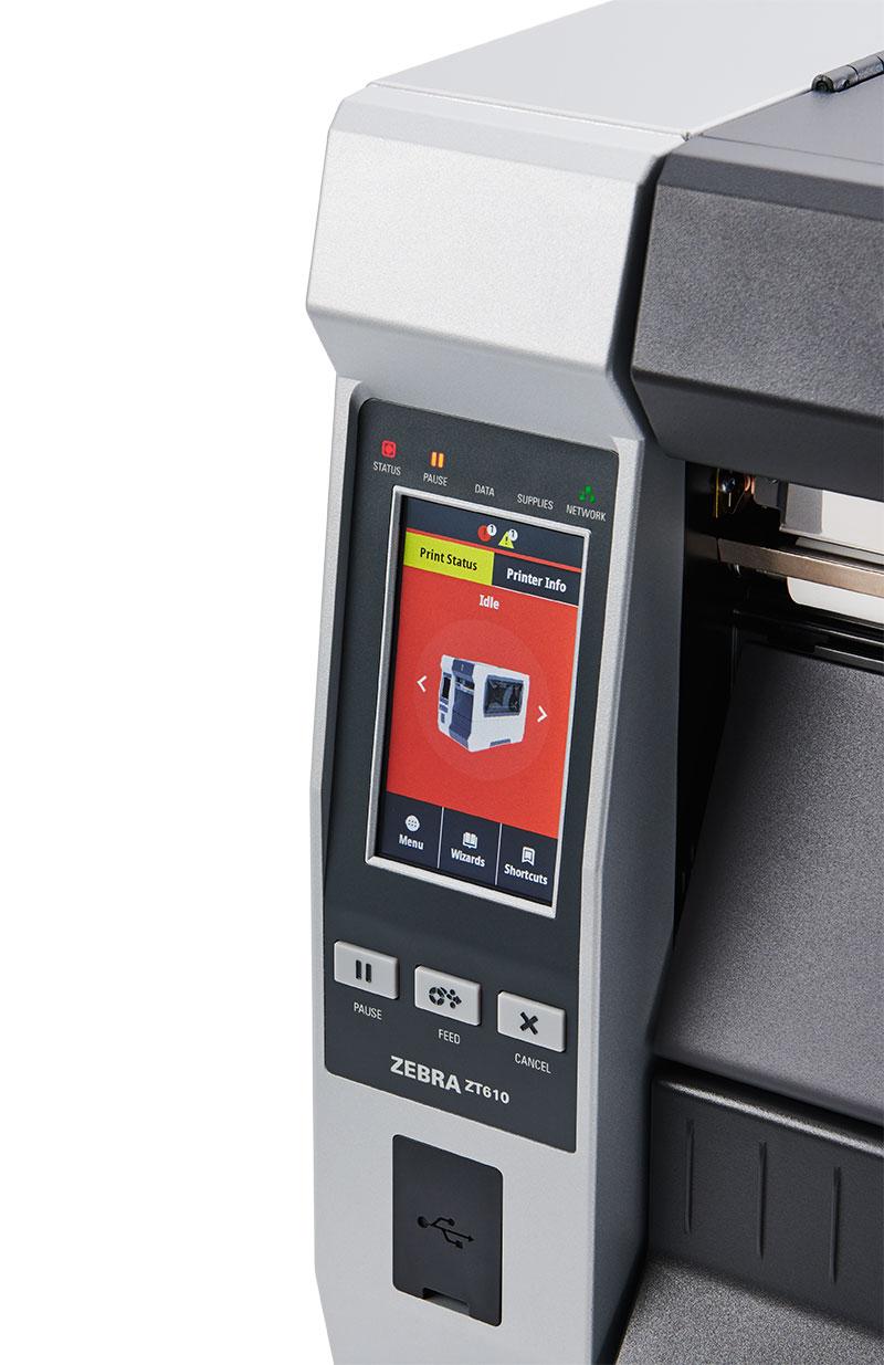 Zebra ZT610 600 dpi - дисплей product-error