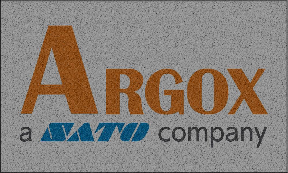 настолни етикетни принтери Argox - лого с подложка