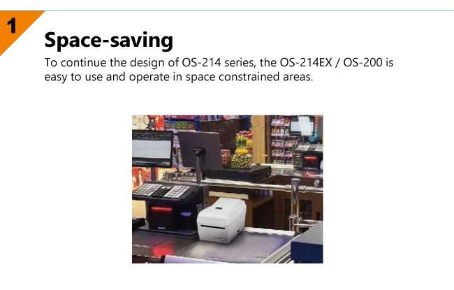 настолен етикетен принтер Argox OS-214EX - характеристики 1
