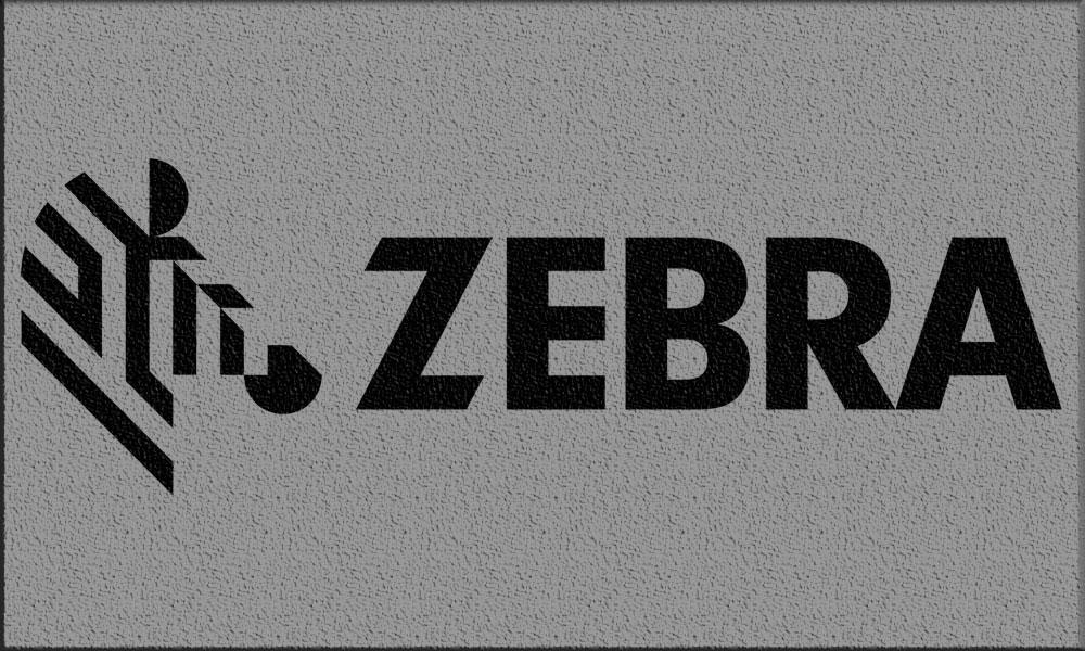 настолни етикетни принтери Zebra - лого с подложка