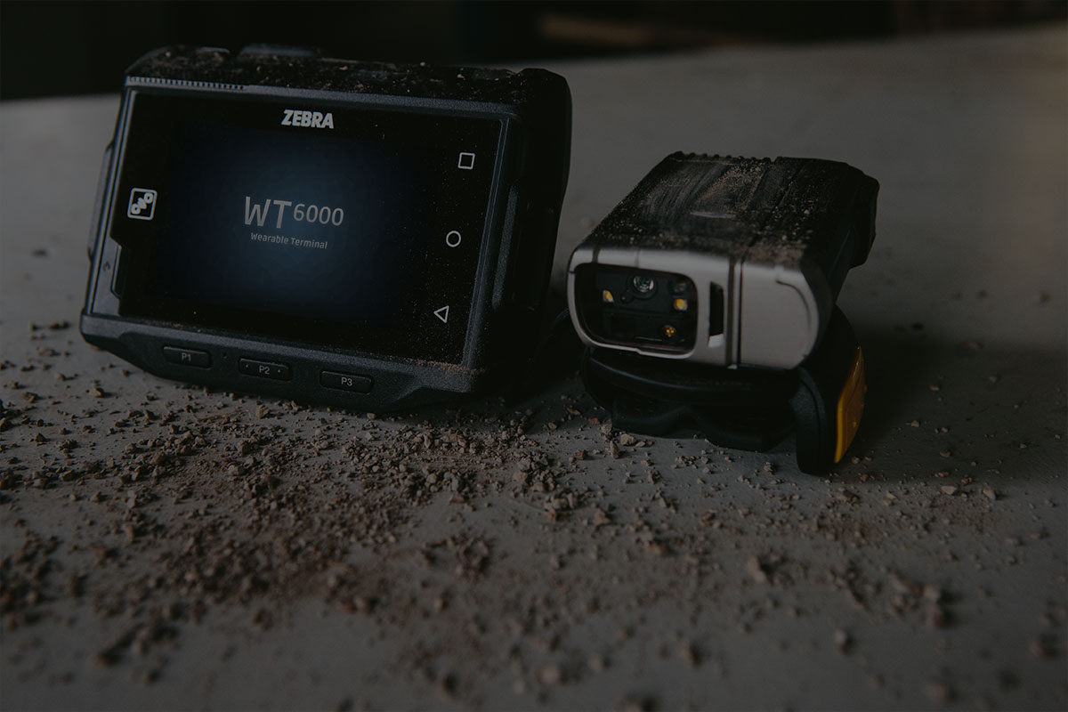 Zebra WT6000 и RS6000 - снимка на корица